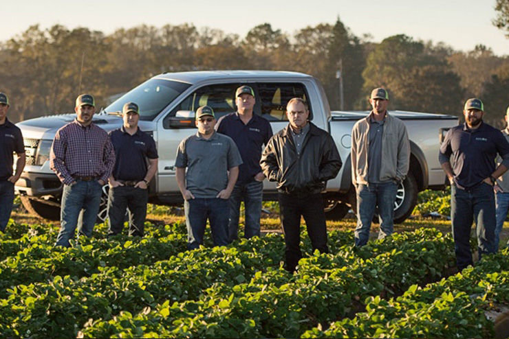 Highland Precision Ag Team Group Shot